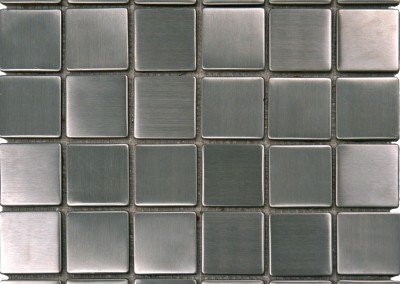 SMOT-MET-SLV2X2 - Metal Silver 2X2X8mm Matte