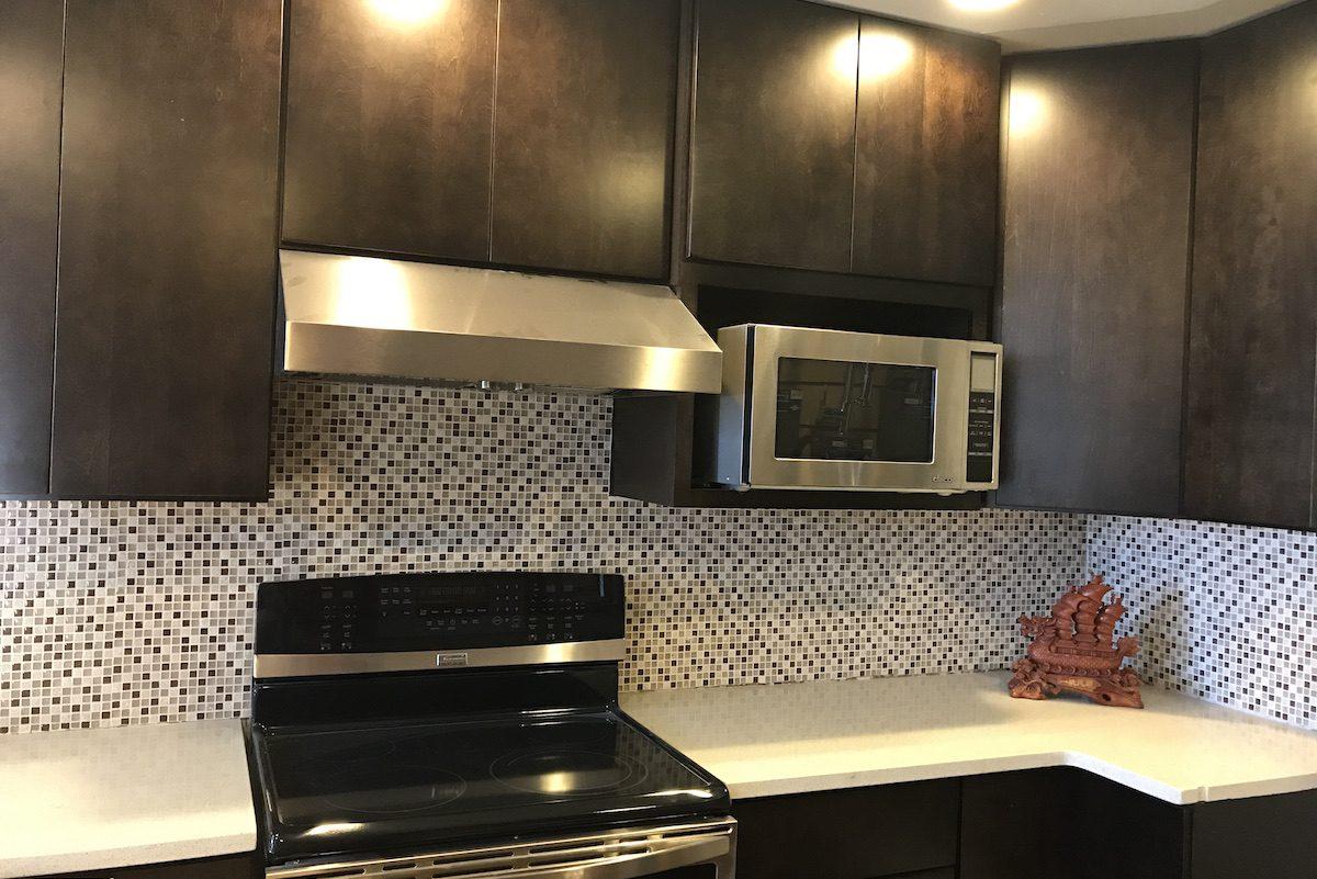 kitchen cabinet dark
