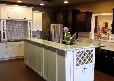 Seattle Showroom Kitchen Island