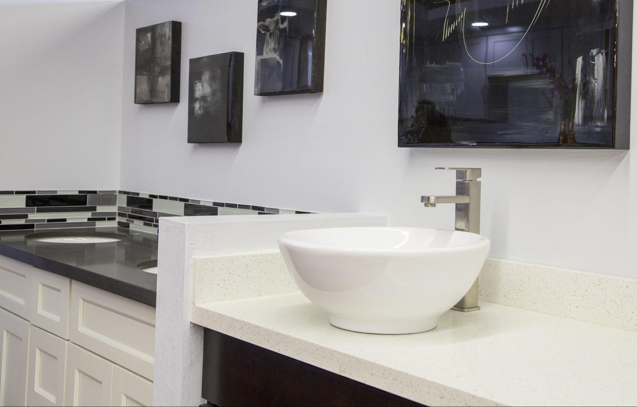 Various Bathroom Sink Styles Please Visit Our Showroom Abs Cabinets Counters Seattle Bellevue Lynnwood