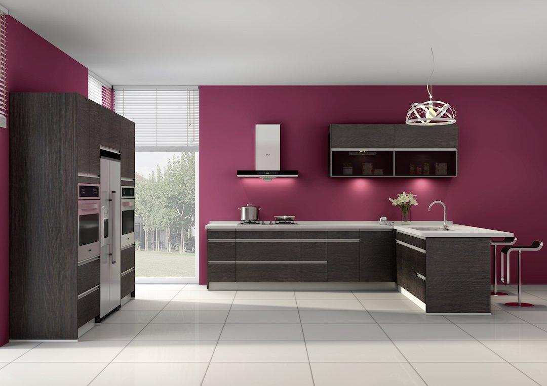 Oak Brown Kitchen Remodel Cabinets
