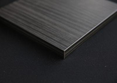 Dark Wood door edge