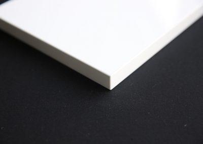Glossy White door edge