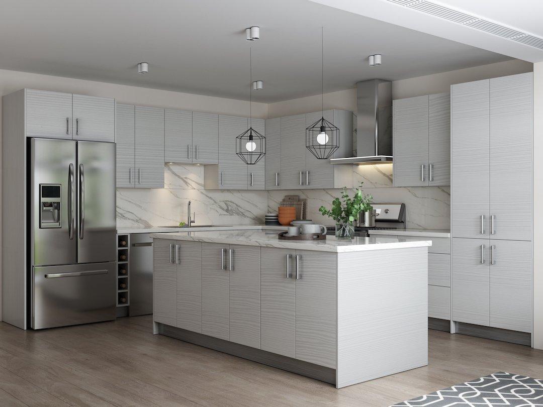 Pale Pine Kitchen