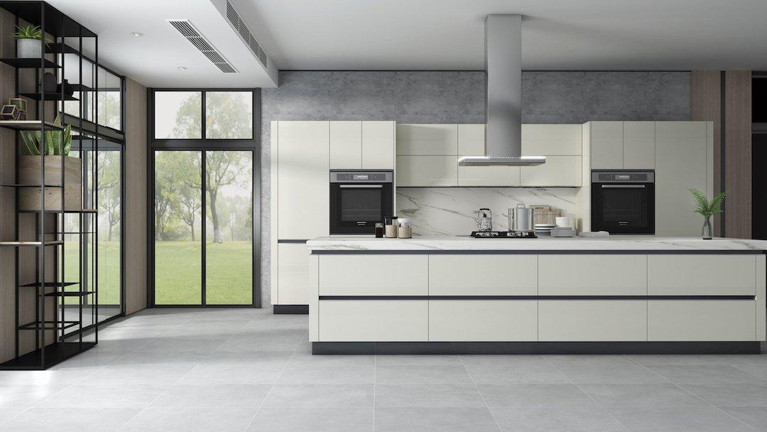 Vanilla Kitchen Remodel Cabinets