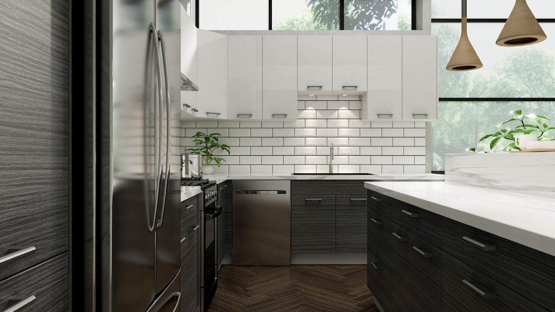 Black Oak Cabinets