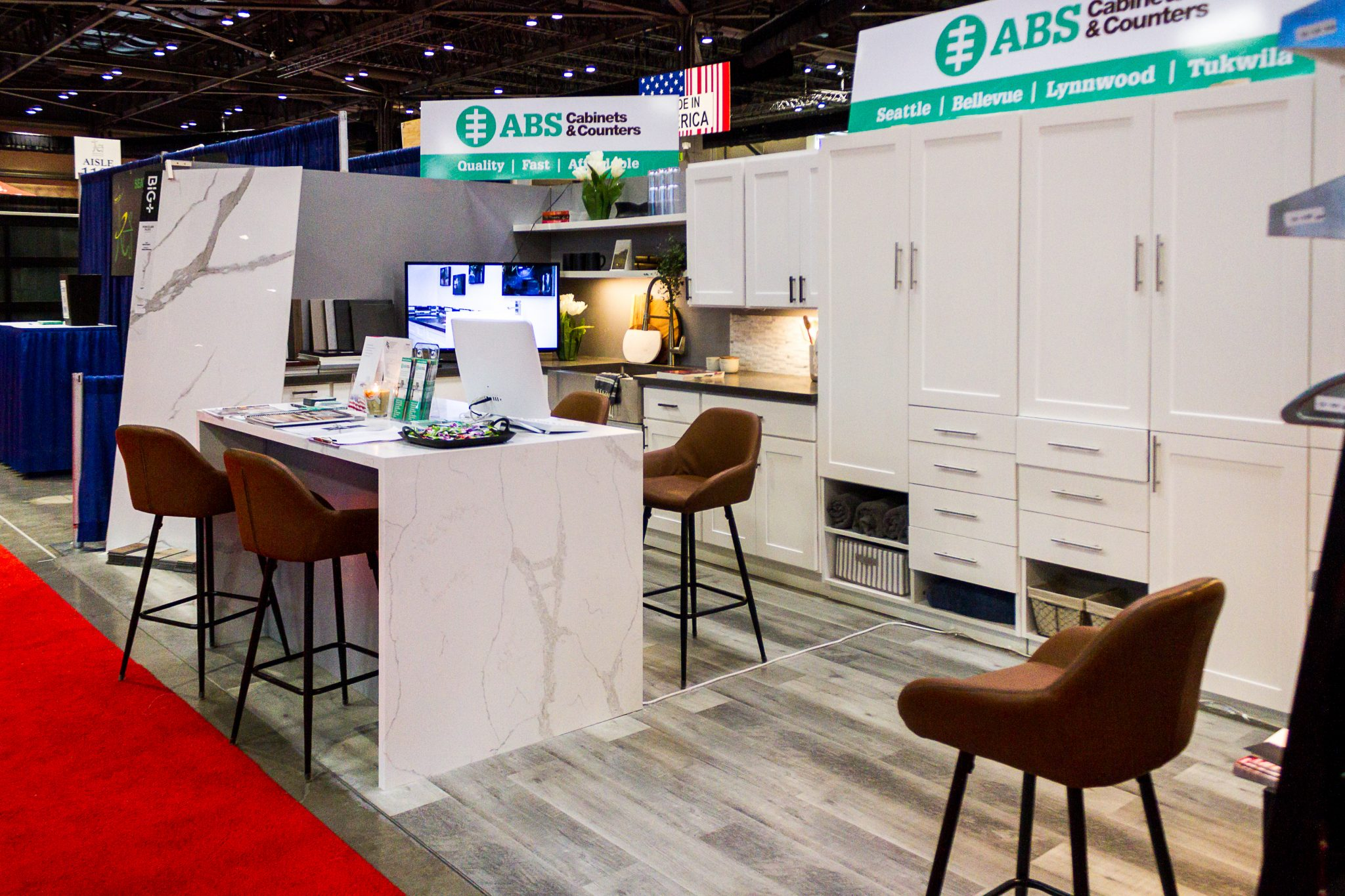 Booth @SeattleHomeShow